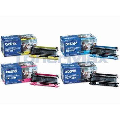 BROTHER HL-4040CN MFC-9440CN TONER BUNDLE PACK (BLACK, CYAN, MAGENTA, YELLOW)